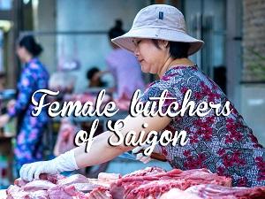 Female butchers of Saigon
