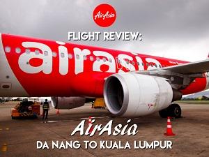 Flight Review: AirAsia – Da Nang to Kuala Lumpur