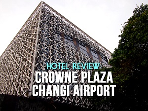 Hotel Review: Crowne Plaza Changi Airport – staying at the best airport hotel in the world