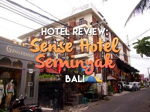Hotel Review: Sense Hotel Seminyak, Bali - Indonesia