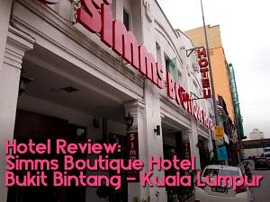 Simms Boutique Hotel Bukit Bintang