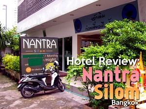 Hotel Review: Nantra Silom, Bangkok
