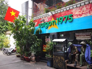 Cafe Saigon 1975 – a war memorabilia cafe in Ho Chi Minh City
