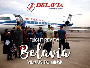 Flight Review: Belavia - Vilnius to Minsk