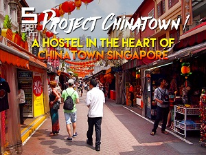 5footway.inn Project Chinatown 1 – A hostel in the heart of Chinatown Singapore