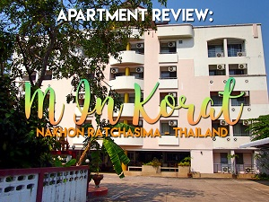 Apartment Review: M In Korat, Nakhon Ratchisima - Thailand