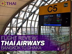 Flight Review: Thai Airways – Bangkok to Dhaka
