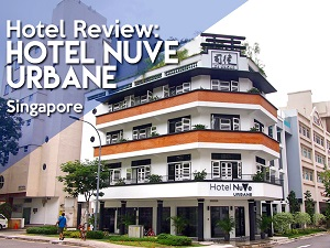 Hotel Review: Hotel NuVe Urbane – a luxury boutique hotel in the Lavender district of Singapore
