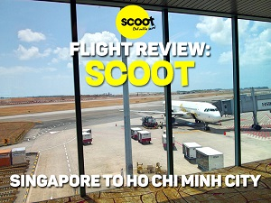 Flight Review: Scoot – Singapore to Ho Chi Minh City