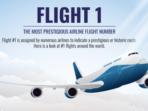 Flight 1 – The most prestigious airline flight number