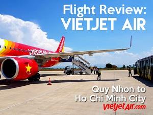 Flight Review: VietJet Air – Quy Nhon to Ho Chi Minh City