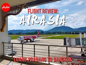 Flight Review: AirAsia – Luang Prabang to Bangkok