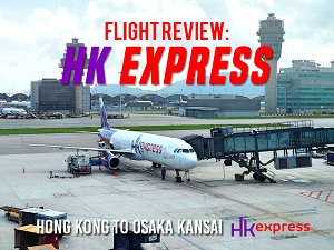 Flight Review: HK Express – Hong Kong to Osaka Kansai