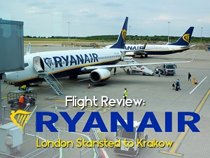 Flight Review: Ryanair - London Stansted to Krakow
