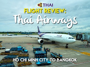 Flight Review: Thai Airways – Ho Chi Minh City to Bangkok