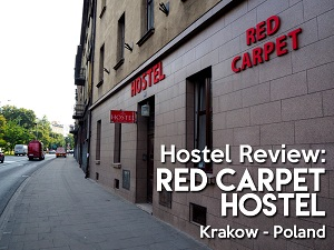 Hostel Review: Red Carpet Hostel, Krakow - Poland