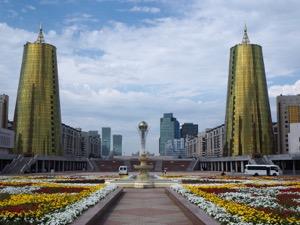 Notes on Astana – the futuristic capital of Kazakhstan