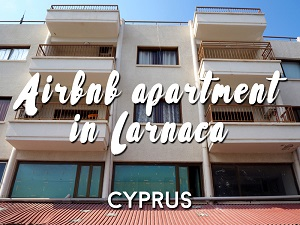 Airbnb apartment in Larnaca - Cyprus