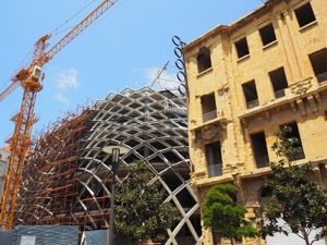 Rebuilding the new Beirut