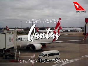 Flight Review: Qantas - Sydney to Brisbane