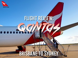 Flight Review: Qantas - Brisbane to Sydney