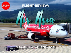 Flight Review: Air Asia – Macau to Chiang Mai